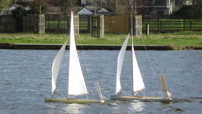 Vintage Model Yachts